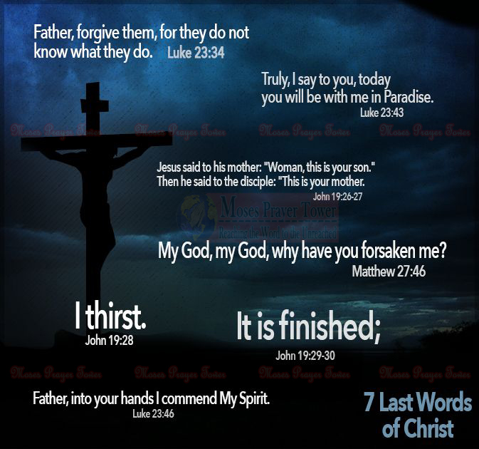 last words of christ essay On april 2-4, 2018, the church of god in christ (cogic) and the american  will  lead in the celebration of the 50th anniversary of dr martin luther king's last  speech,  ages 12-15, response must be no more than 500 words ages 16-20,  the.