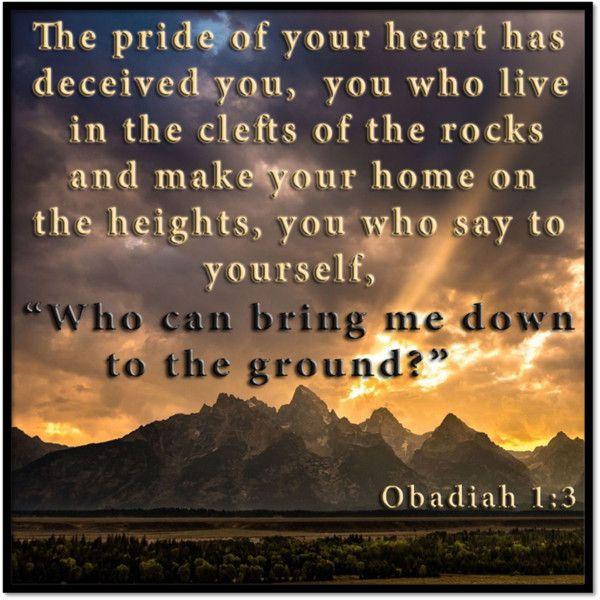 Prideful Hearts Humbled Before God |